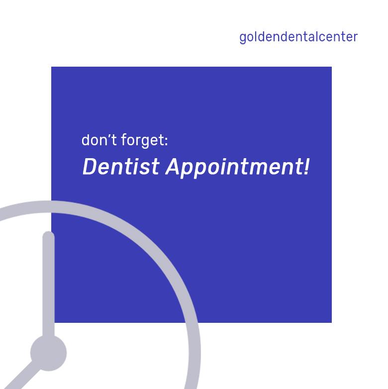 Jangan pernah lupa untuk kontrol rutin ke dokter gigi