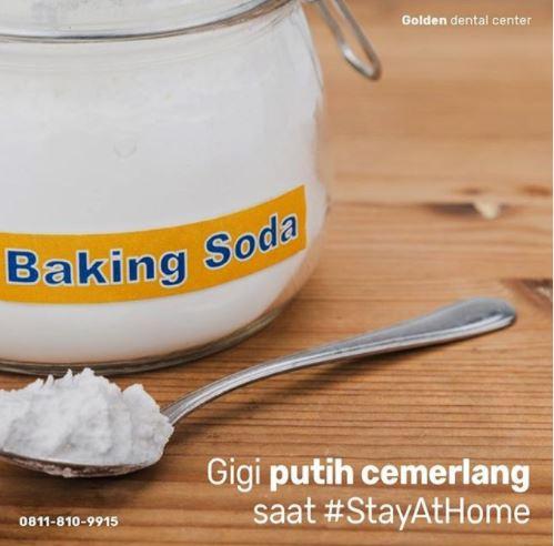 Cara memutihkan gigi secara natural saat #StayAtHome