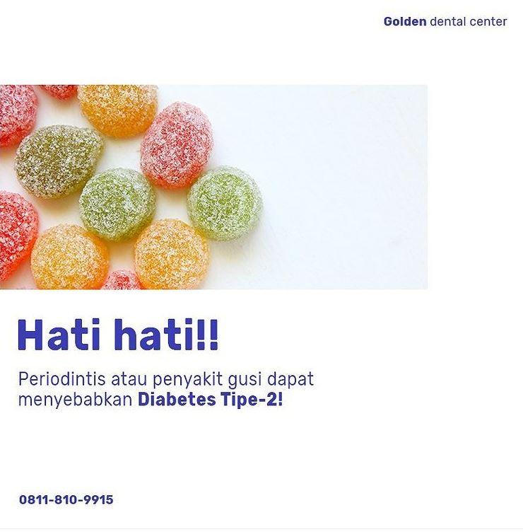 Penyakit gusi dapat menyebabkan diabetes tipe-2!