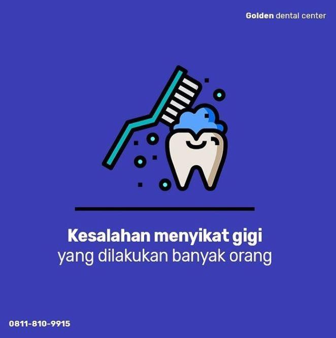 Kesalahan menyikat gigi yang dilakukan banyak orang